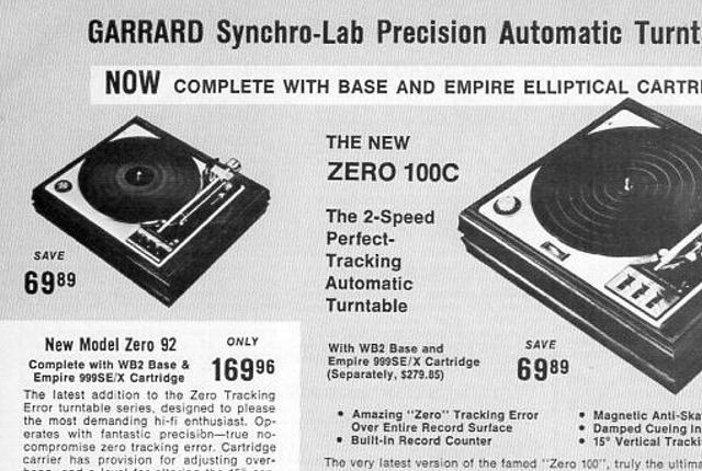 ARS NB9M Garrard Farnsworth Phono Cartridge Wiring Diagram on
